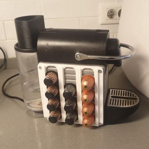Download free 3D printer templates Nespresso Capsule Holder, EliGreen