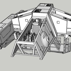 Download 3D printer model at hauler 3.75 star wars, fcstore2
