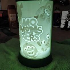 IMG_20200516_131027.jpg Download STL file Momonsters litophane • 3D print object, filaprim3d