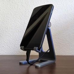 Descargar archivos 3D Adjustable phone stand, filaprim3d