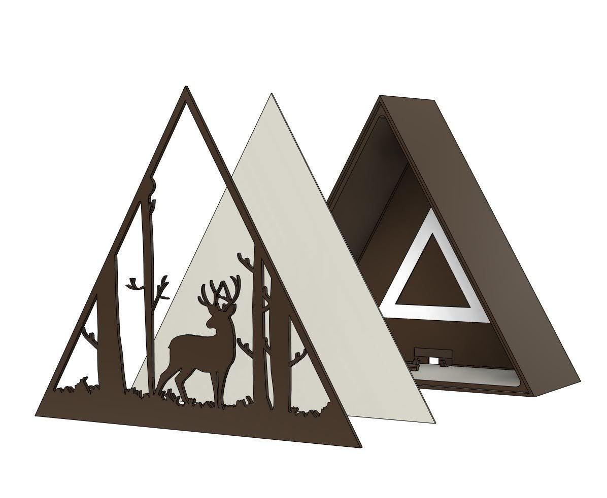 IMG-20201006-WA0018.jpg Descargar archivo STL Lámpara ciervo • Plan de la impresora 3D, filaprim3d