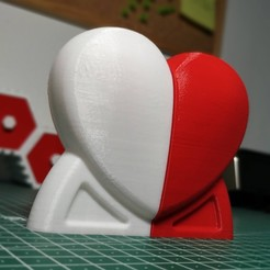 IMG_20200207_155831.jpg Download STL file Heart shaped salt and pepper shaker • 3D printing model, filaprim3d