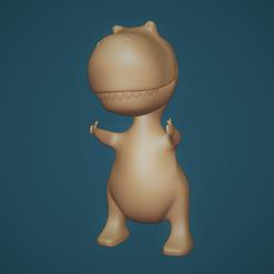 Captura.PNG Télécharger fichier STL Un joli dino • Plan à imprimer en 3D, filaprim3d