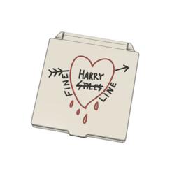 Download 3D printer designs Harry Styles face masl case box, filaprim3d