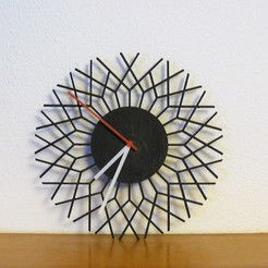 P1040352.JPG Download STL file Geometric Clock • 3D printer template, filaprim3d