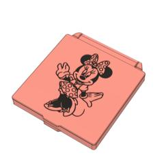 prev 1.PNG Download STL file Minnie - Face mask case • 3D printable design, filaprim3d