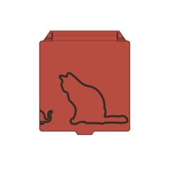 prev1.PNG Télécharger fichier STL Affaire du masque facial du chat et de la souris • Modèle pour impression 3D, filaprim3d