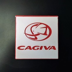prev1.jpg Download STL file Cagiva box • 3D printable design, filaprim3d