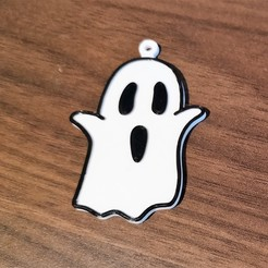 Download 3D printer designs Ghost keychain, filaprim3d