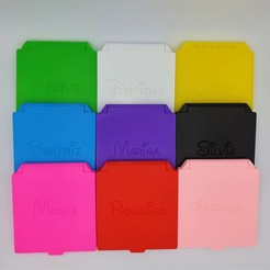 infantiles.jpeg Télécharger fichier STL Boîte pour masque (LISSE SANS TEXTE) • Objet pour imprimante 3D, filaprim3d