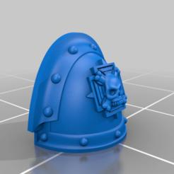MK_3_Crux.png Download free STL file Crux Shoulder Pad • 3D printing object, Haarspalta