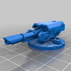 33f381c84a45d8a141bcaa2273154630.png Télécharger fichier STL gratuit Lasercannon et tourelle de canon à plasma jumelée • Modèle pour impression 3D, Haarspalta