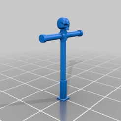 02de984d3f92453993c218b809e5bb6c.png Download free STL file Banner Pole for Space Warriors Backpack • 3D printable object, Haarspalta