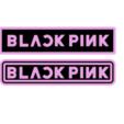 Télécharger fichier STL gratuit Porte-clés porte-clés rose noir • Plan à imprimer en 3D, romerogagustin