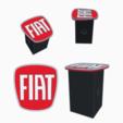 fiat.png Télécharger fichier STL Remorque Fiat Trailer couvre-accessoires • Objet pour impression 3D, romerogagustin