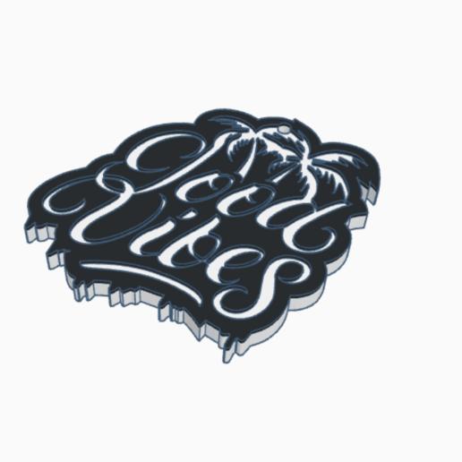 good.png Télécharger fichier STL gratuit Bons Vibes Bons Vibes Bons Vibes • Modèle pour imprimante 3D, romerogagustin