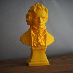 Download 3D print files Beethoven bust, bobp