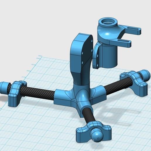 Download 3D printer designs Antenna beam rotator, yagi pmr446 70cm etc, bobp