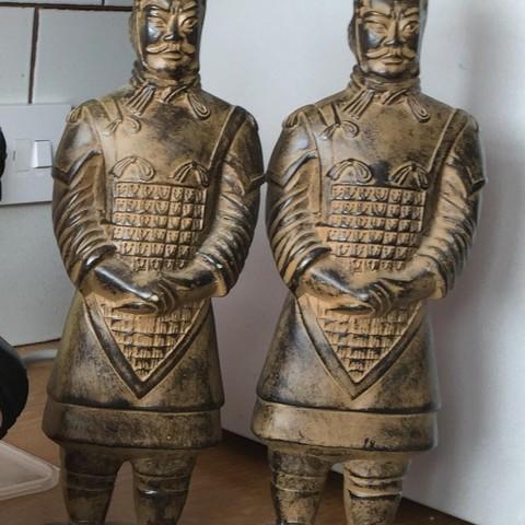 Free 3D model Terracotta army warrior, bobp