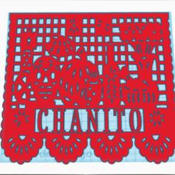 papel1.png Télécharger fichier STL papel picado dia de muertos 7 diseños • Plan imprimable en 3D, job_pachuca