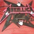 Télécharger plan imprimante 3D gatuit Horloge Metallica, job_pachuca
