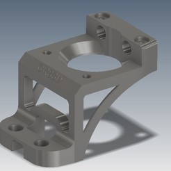 Download 3D printing models Ender Z Axis Stepper Motor Mount, CR83D