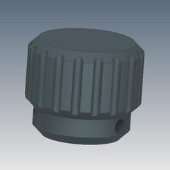 Descargar archivo 3D gratis Perilla de tornillo de 8 mm de diámetro, CR83D