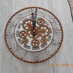 Télécharger STL gratuit Horloge avec mécanisme décoratif., vlas5