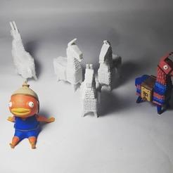 fabartst_67197745_495446311273370_1362058416776550076_n.jpg Download STL file Fish Stick Fortnite • 3D printer template, crhis