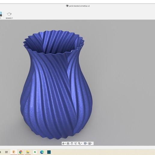 Télécharger fichier impression 3D gratuit Vase à torsion symétrique, NorMaker