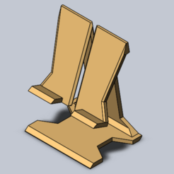 Download 3D printing templates Phone Holder, Canek