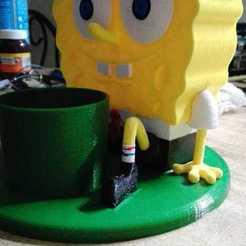Descargar archivo 3D SpongeBob Flowerpot, Canek