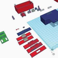 Electrical enclosure parts.JPG Télécharger fichier STL Boîte de jonction électrique de l'imprimante 3D, couvercles, boîtiers des interrupteurs de fin de course et bornier des connecteurs • Objet imprimable en 3D, supertb1