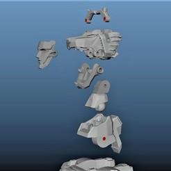 Screenshot (301).jpg Download STL file Lion Combiner Super Robot • 3D printable object, supertb1