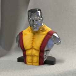 Imprimir en 3D Colossus from X-men, JulioCesar_