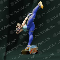 chunlir1ma.jpg Download STL file Street fighter - Chun Li • 3D printable design, JulioCesar_3DD