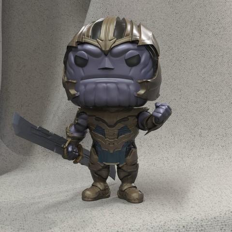 Download STL file Thanos, JulioCesar_