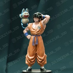 Télécharger fichier impression 3D Dragon ball - Yamcha et Puar, JulioCesar_3DD