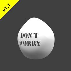 Render66.png Télécharger fichier STL gratuit Couverture de masque anti-poussière v1.1 Design 15-Dont Worry • Modèle imprimable en 3D, hopio