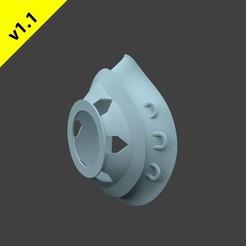 SimpleMasktv1.1MainImage.jpg Download STL file Simple Mask Adapter v1.1 • 3D printing object, hopio