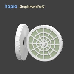 Download 3D printer files hopio Simple MaskPro S1, hopio
