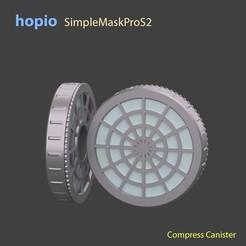 Download STL file hopio Simple MaskPro S2, hopio