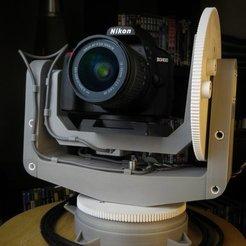 Descargar modelos 3D gratis Cámara Gimbal, fhuable