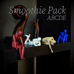 Download STL file Smoothie Pack - ABCDE, fhuable
