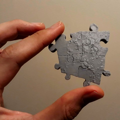 Download free 3D printer designs Puzzle Calibration Pieces, fhuable