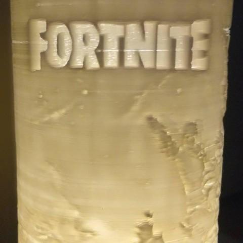 Fortnite lamp decor litophane