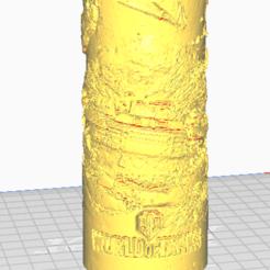 Descargar diseños 3D El mundo de los tanques Decoración de lámparas WOT, jacint104