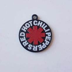 photo4911550306094000374.jpg Download STL file Keychain Red Hot Chili Peppers • 3D printer design, federicorlonghi