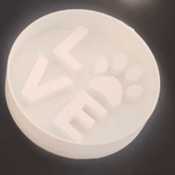 Descargar archivo STL Love cookie cutter • Diseño para imprimir en 3D, federicorlonghi