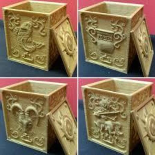 images (7).jpg Télécharger fichier STL gratuit saint seiya caballeros del zodiaco pandora box x12 • Plan pour imprimante 3D, shacomieron9